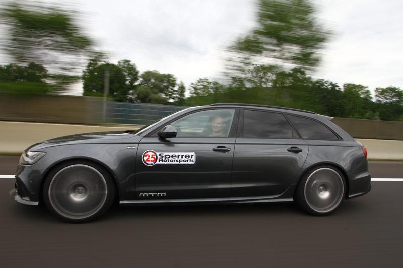 krone.at: So viel Spaß machen die MTM- Audis mit 685 PS