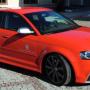 Neues Volksblatt: Eildienst-Audi mit Kanonenkugeleffekt